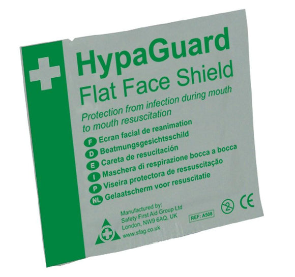 Resuscitation Face Shield Pack Of 10