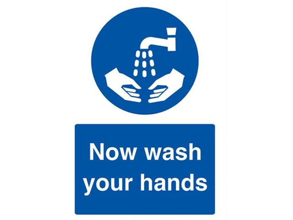 A5 Now Wash Your Hands