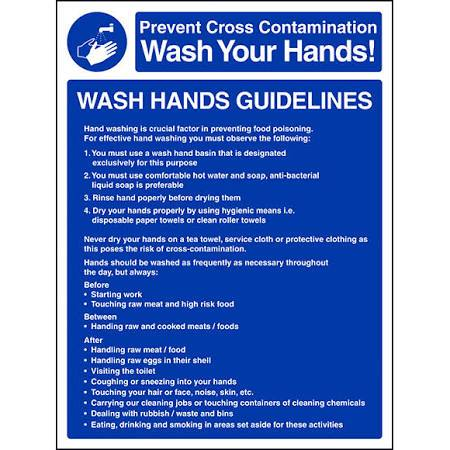 Hand Wash Guide Lines