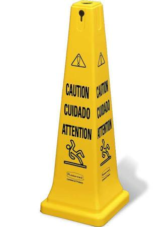 Safety Cone Multi-Lingual