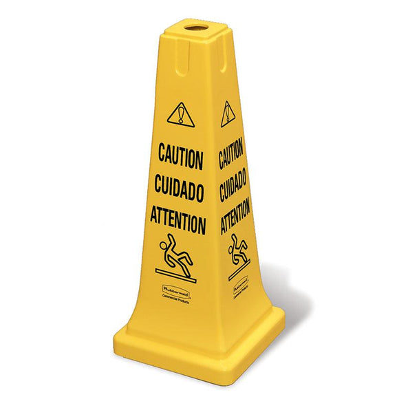 Safety Cone Multi-Ling Caution Wet Floor