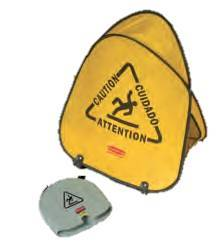 Pop-Up Cone 50cm Caution Symbol