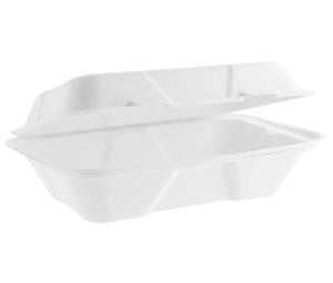 Bagasse Large Clamshell Box