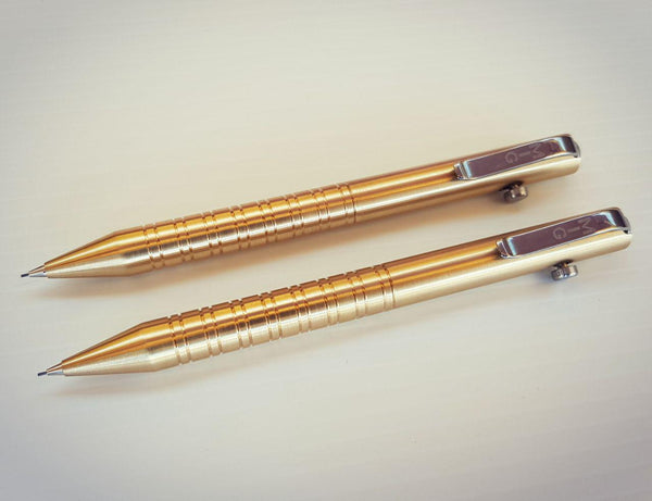Mig Mech Pencil (Brass Straight Pull)