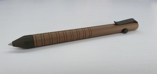Tan and OD Green Bolt Pen