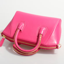 """Kate"" Leather bag- Hot Pink - Avenue27"