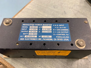 RB-125 Regulated Power Booster 14 volt to 28 volt at 5 amps