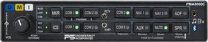 PS Engineering PMA8000C Audio Panel/Marker/Intercom/BlueTooth