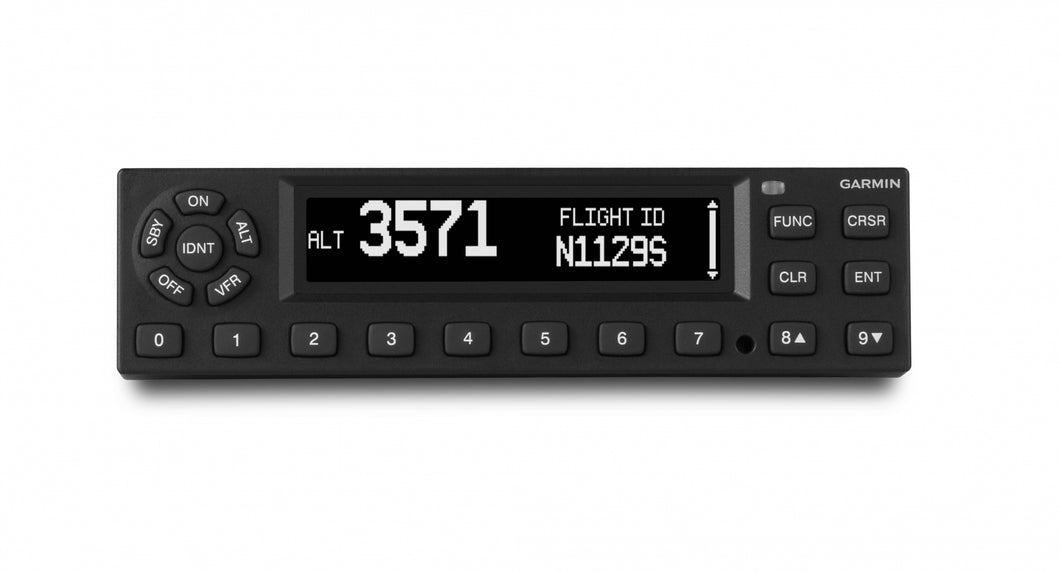 Garmin GTX345 Mode S Transponder w/ADS-B In/Out Installed