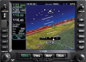 Avidyne IFD550 SBAS/COM/NAV/ARS/SVS/FLTA/WiFi/BT with Free AXP322 ADS-B Out Xpdr and SkyTrax100B ADS-B In