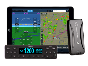 Appareo STRATUS ESGi Certified Transponder with WAAS GPS, ADS-B In/Out, Factory Wiring Harness *A&P Bundle* with Trans-Cal SSD120-35C-RS232 Altitude Encoder