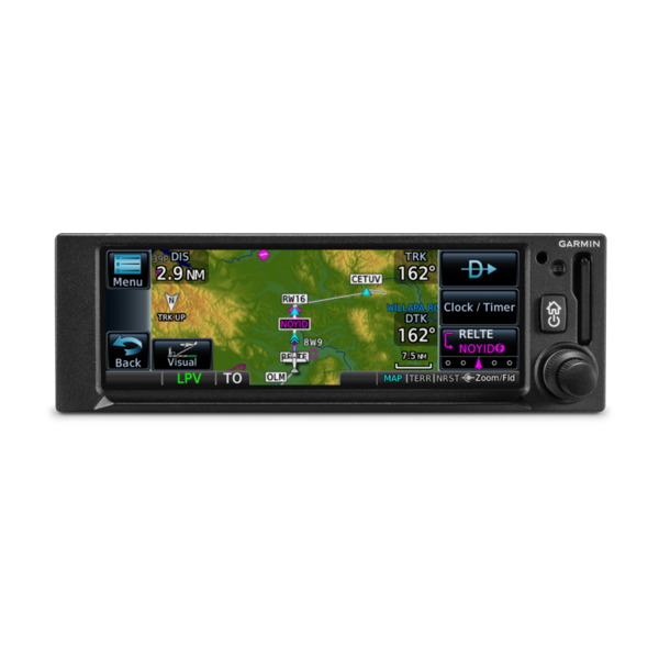Garmin GPS175 IFR WAAS GPS LPV Approach with GA35 Antenna