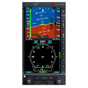 Aspen E5 Dual Electronic Flight Instrument w/ACU