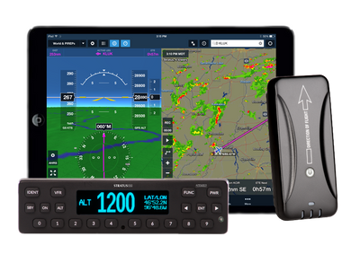 Appareo STRATUS ESGi Certified Transponder with WAAS GPS and ADS-B In/Out *FAA $500 Rebate*
