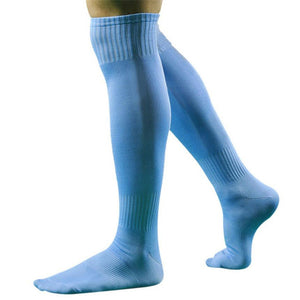 Professional Knee Breathable Absorbent Running Adults Soccer Socks For Men