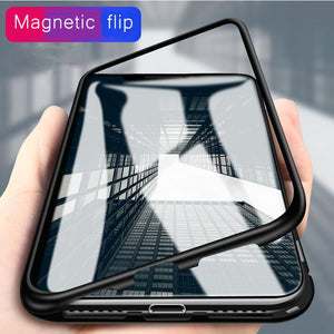 iPhone MAGNETIC ADSORPTION CASE FOR  iPhone X 8 7 Plus