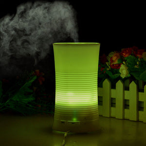 100ML Ultrasonic Aroma Diffuser Humidifier LED Color Changing Air Mist Purifier
