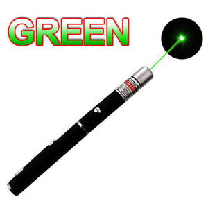 Green + Blue Violet + Red Visible Light Beam 10Miles Purple Laser Pointer Pen 3PCS