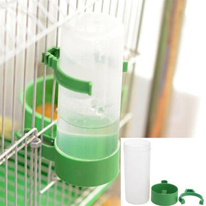 Pet Bird Cage Water Drinker Food Feeder  4pc Set