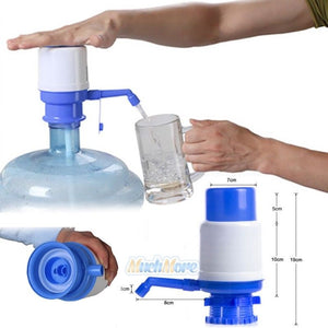 Electric+Manual Hand Press 5 Gallon Drinking Water Bottle Bottled Dispenser Pump