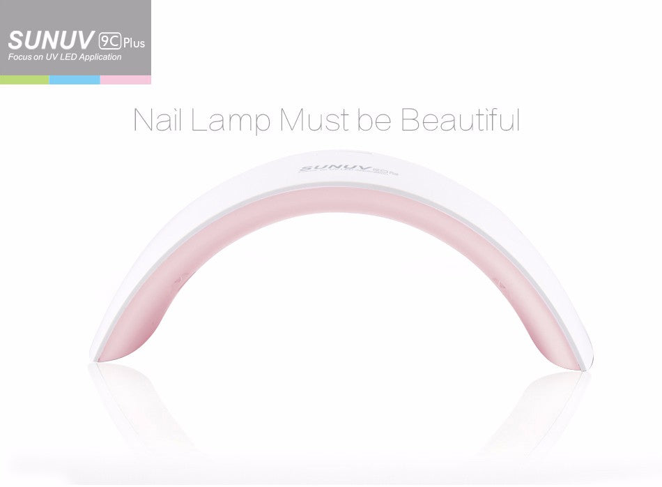 UV LED Nail Lamp 36W. 18 LEDs Nail dryer for All Gels with 30s/60s button Perfect Thumb Solution