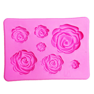 3D Silicone Mold Rose Shape