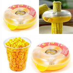Kitchen Helper Easy Peel.. One Step Corn Kerneler Stripper Peeler..