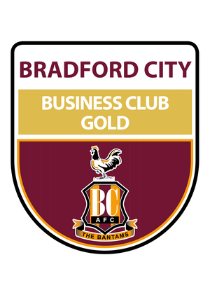 BRADFORD CITY FOOTBALL CLUB COMMERCIAL DEPARTMENT Gold Membership