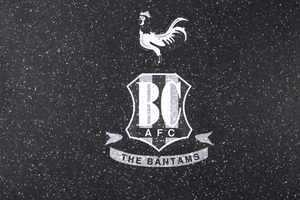 BRADFORD CITY FOOTBALL CLUB COMMERCIAL DEPARTMENT Granite Stone Premium Stone with Bantams Crest