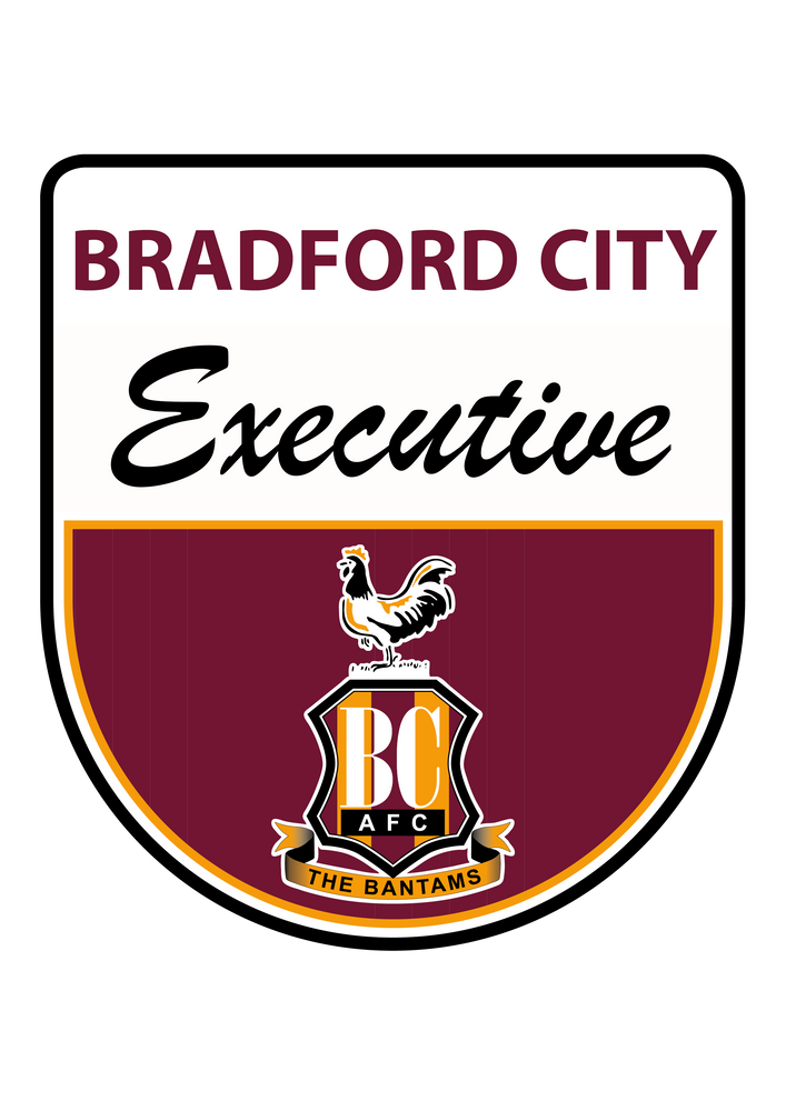 BRADFORD CITY FOOTBALL CLUB COMMERCIAL DEPARTMENT Hospitality Executive Match Hospitality Legends Suite