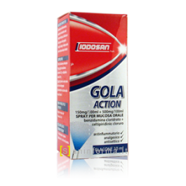 LODOSAN GOLA ACTION SPRAY