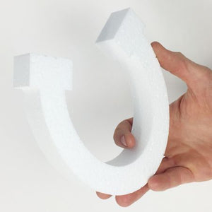 150mm polystyrene Horseshoe