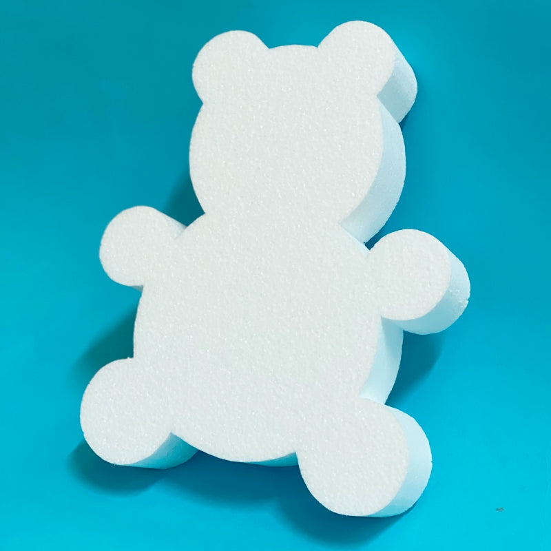 180mm 2D Bear Polystyrene shape