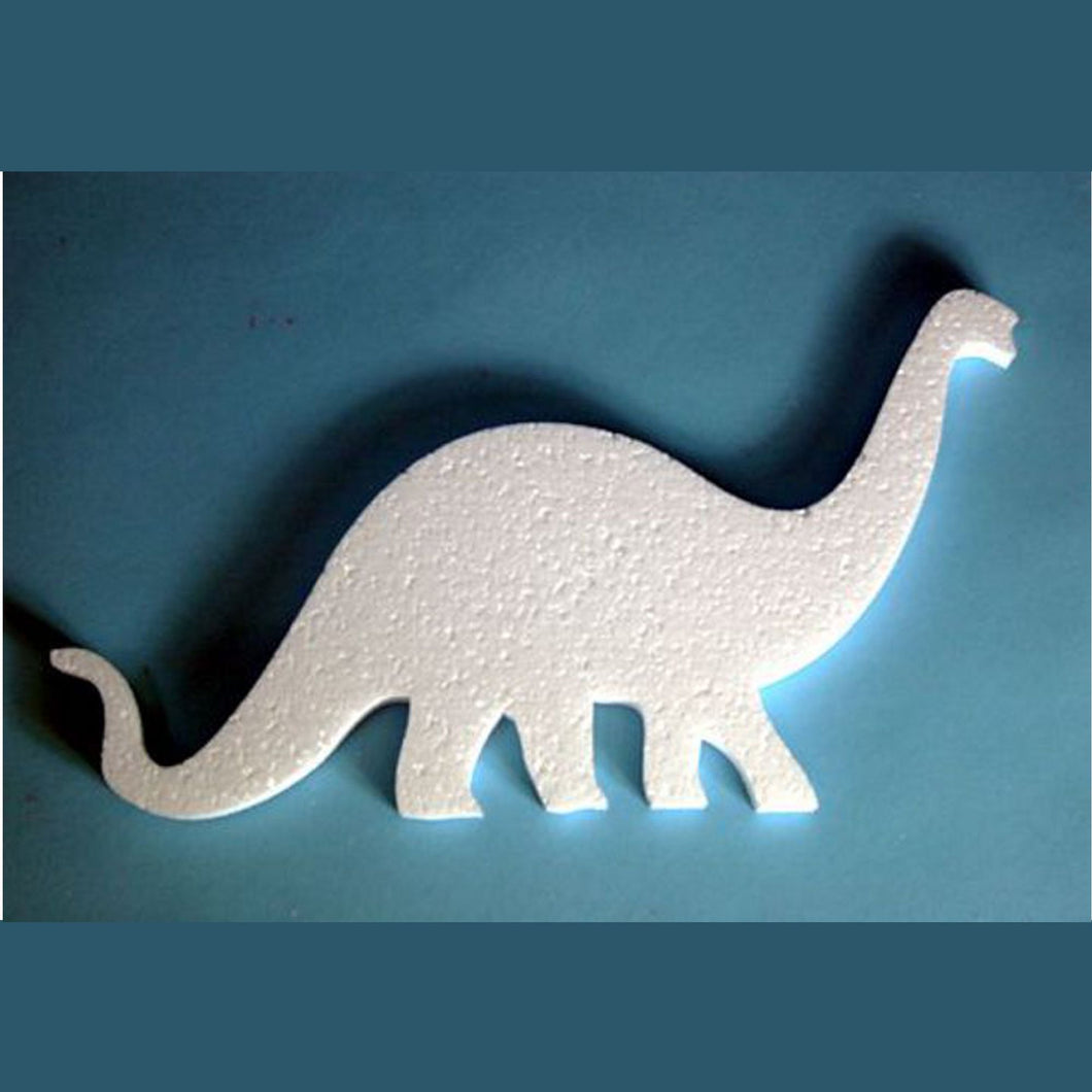 280mm long polystyrene Diplodocus