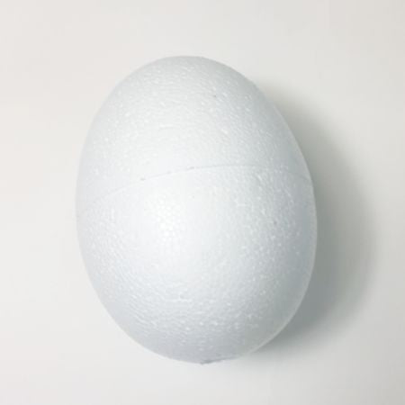 380 mm tall polystyrene egg