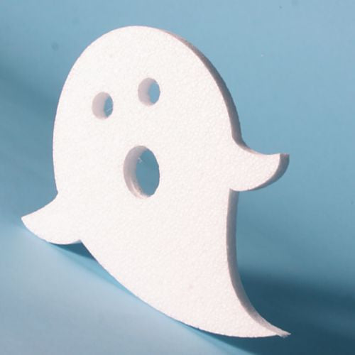 Pack of 5 - Polystyrene Ghosts - 200mm high x 12 mm thick.
