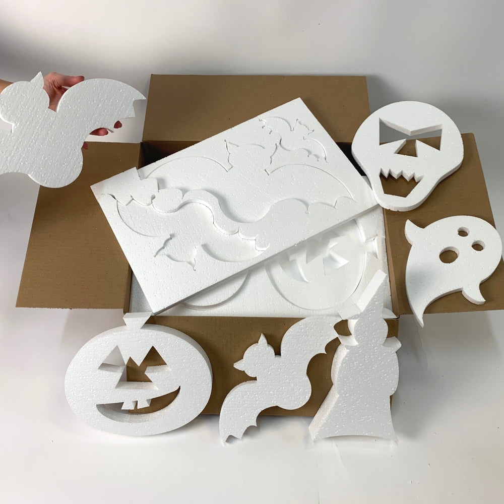 Poly Craft Mixed Halloween pack  PCS-HW-001
