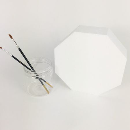 80mm polystyrene Octagon