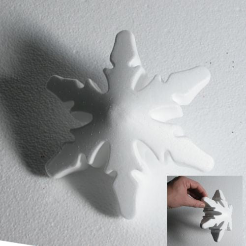 180 mm snowflakes - Design A