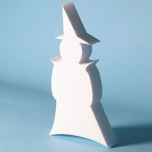 280 mm high - Polystyrene Witch.