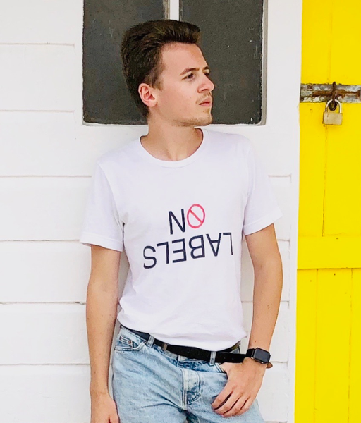 NO LABELS White T-Shirt