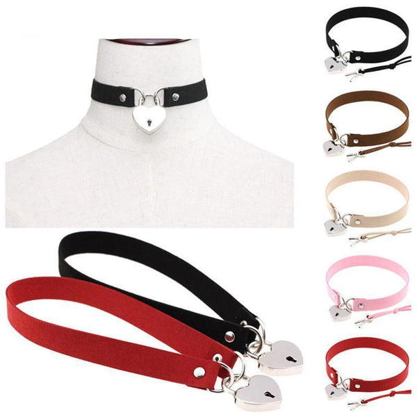 Collier BDSM 6 coloris