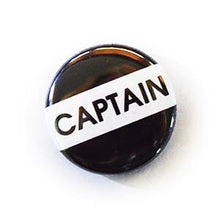 25Mm Retro School Style Button Badges Captain Immaculate Reflection Car Care