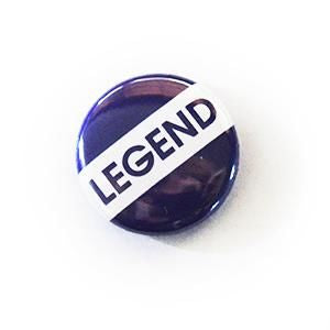 25Mm Retro School Style Button Badges Legend Immaculate Reflection Car Care