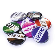 25Mm Retro School Style Button Badges Random Badges Immaculate Reflection Car Care