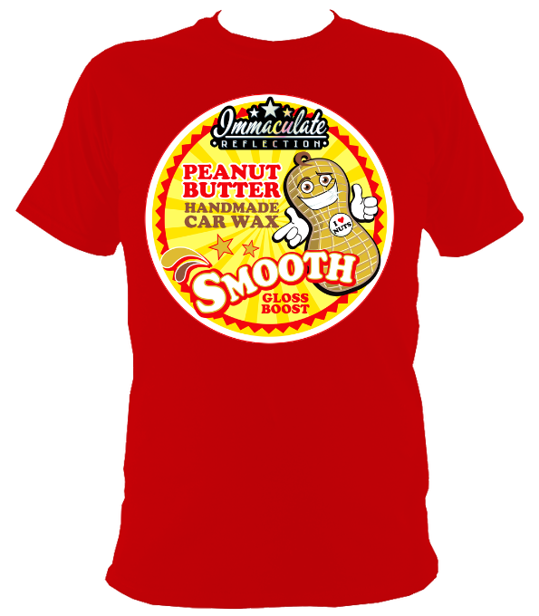 Peanut Butter Wax tee - Immaculate Reflection Car Care