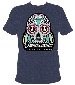 Sugar Skull  tee - Immaculate Reflection Car Care