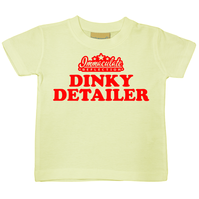 Dinky Detailer 12-36 months toddler tee - Immaculate Reflection Car Care