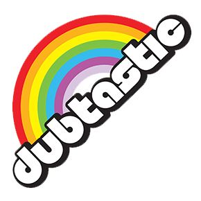 Dubtastic Rainbow Sticker Stickers