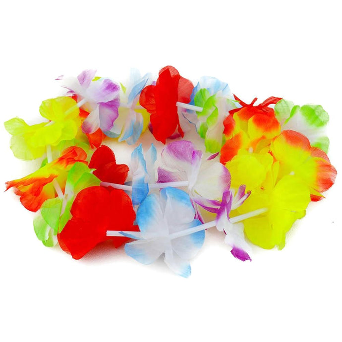 Funky Rainbow Hawaiian Leis Other Stuff!